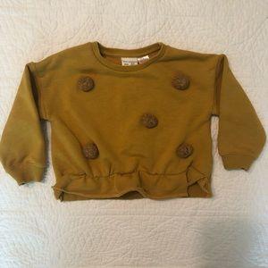 Zara PomPom Sweatshirt 2/3years